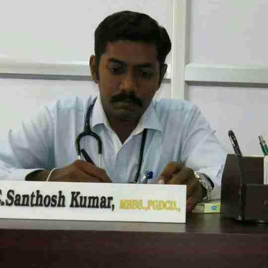 Dr. Santhosh Kumar Elango's profile on Curofy
