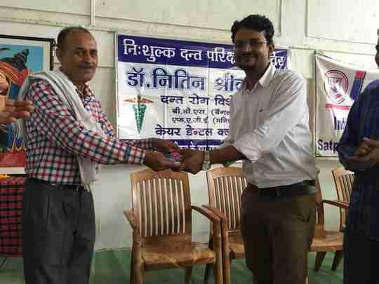 Dr. Nitin Shrivastava's profile on Curofy