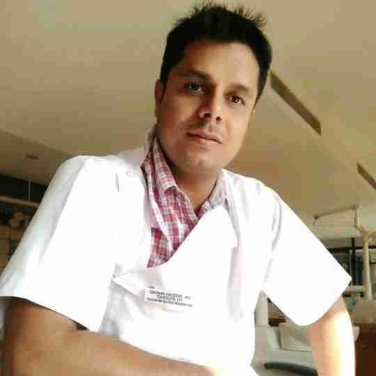 Dr. Nitesh Anand(Mds)'s profile on Curofy