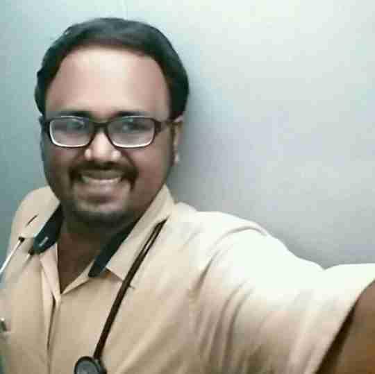 Dr. Vishnu K's profile on Curofy