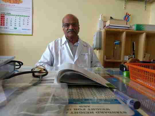 Dr. Jothi Palakshi's profile on Curofy