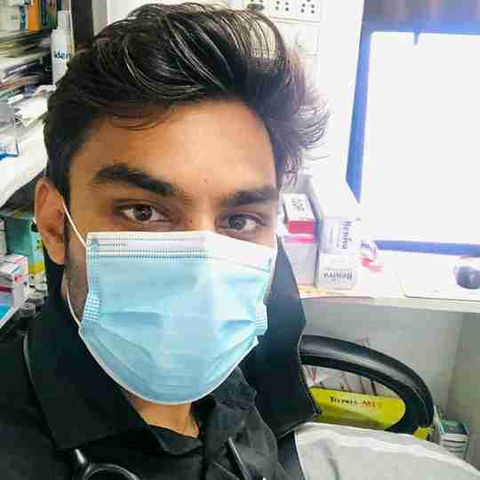 Dr. Shubham Jain's profile on Curofy