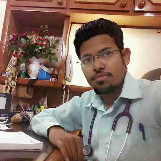 Dr. Satishkumar Parmar's profile on Curofy