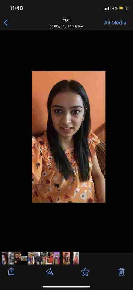 Kruthika Balakrishna's profile on Curofy