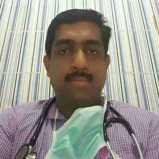 Dr. Manesh Kumar P G's profile on Curofy