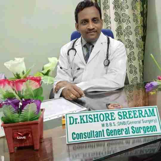 Dr. Kishore Sreeram's profile on Curofy