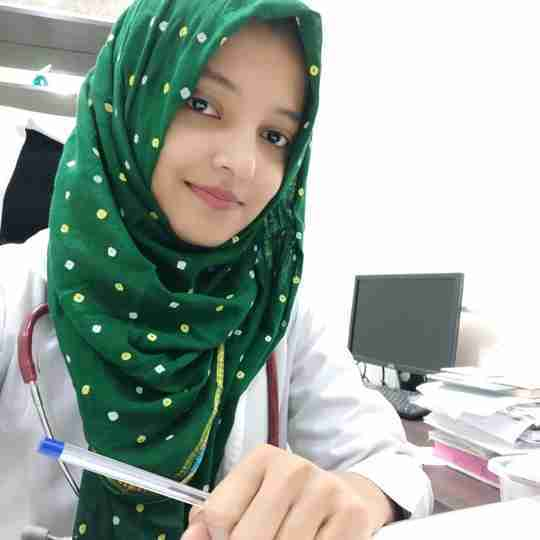 Dr. Lubna Ahmed's profile on Curofy