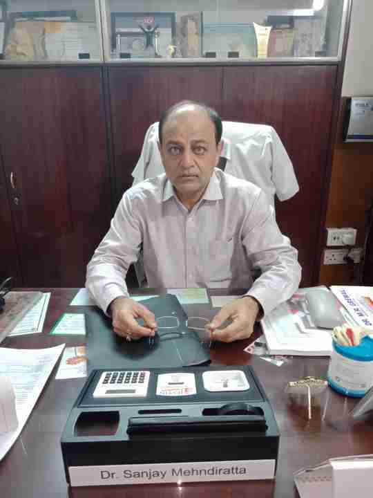 Dr. Sanjay Mehndiratta's profile on Curofy