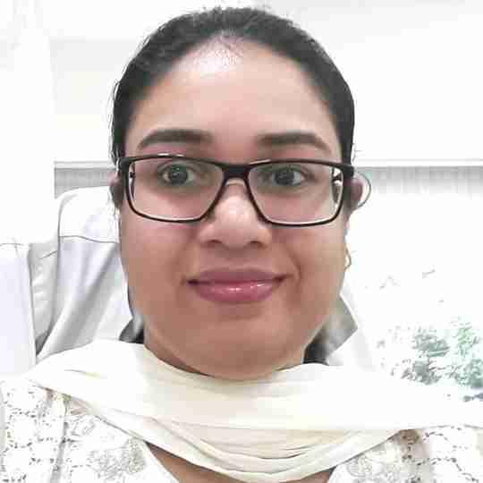Dr. Shruti's profile on Curofy