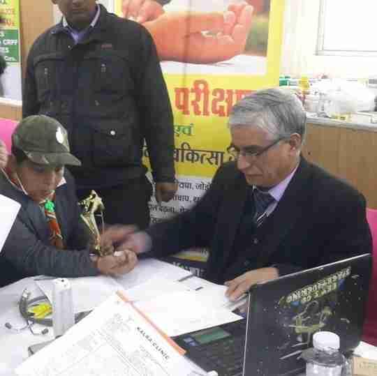 Dr. Vinay Kumar Kalra's profile on Curofy