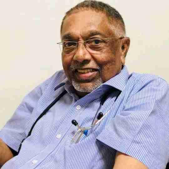 Dr. Radhakrishna Menon's profile on Curofy