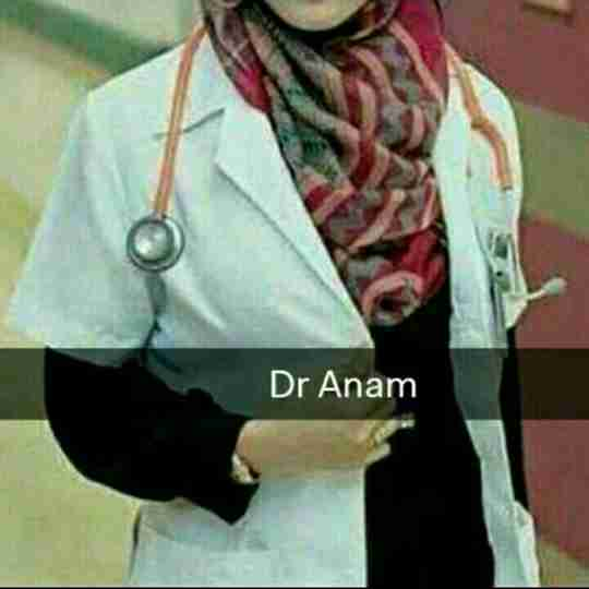 Dr. Anam Khan's profile on Curofy