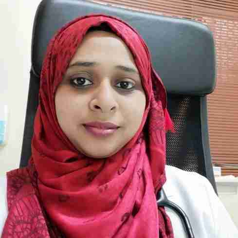 Dr. Nitha Parveen's profile on Curofy