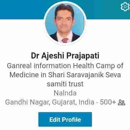 Dr. Ajeshi Prajapati's profile on Curofy