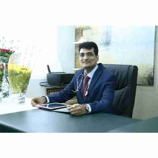 Dr. Prashant Gandhi's profile on Curofy