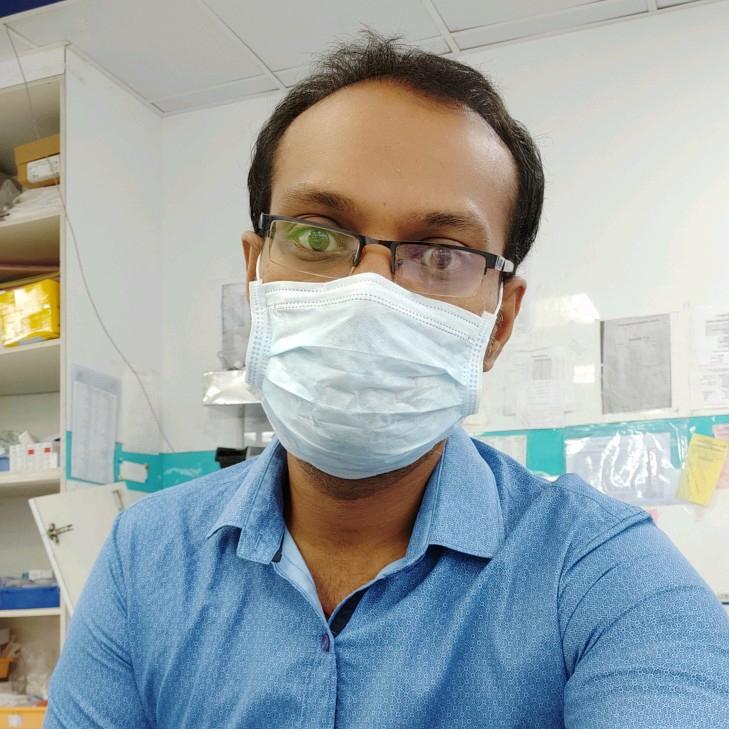 Dr. Vishnu Kanth Daraboina's profile on Curofy