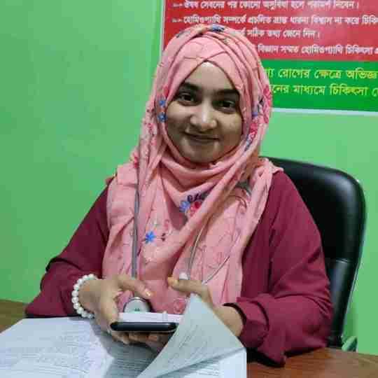 Dr. Jiasmin Islam's profile on Curofy