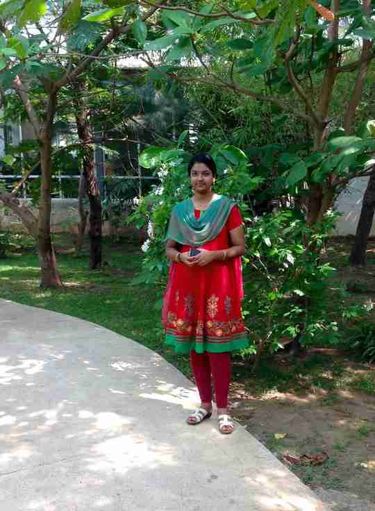 Shobana Sridhar's profile on Curofy