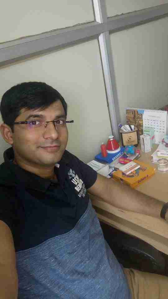 Shashank Kumar's profile on Curofy