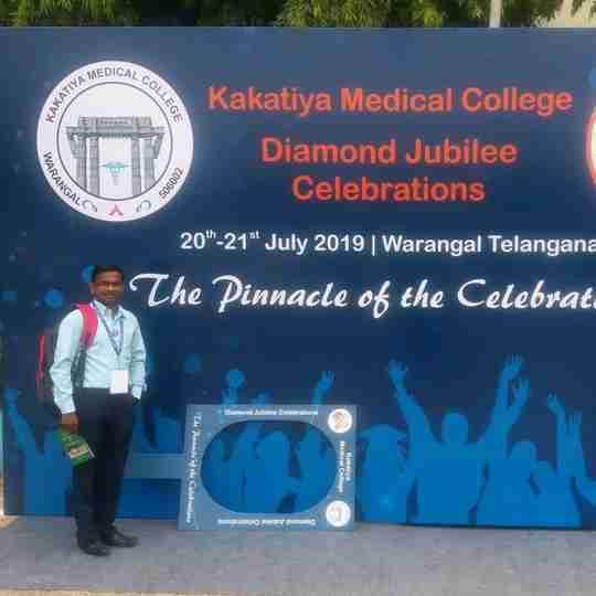 Dr. Pasula Ravi's profile on Curofy