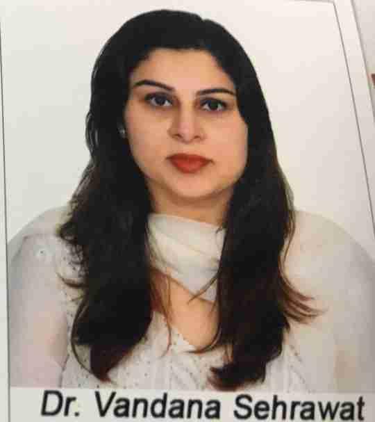 Dr. Vandana Sehrawat's profile on Curofy