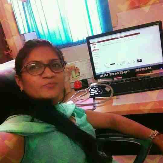 Dr. Manisha T's profile on Curofy