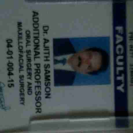 Dr. Ajit Samson's profile on Curofy
