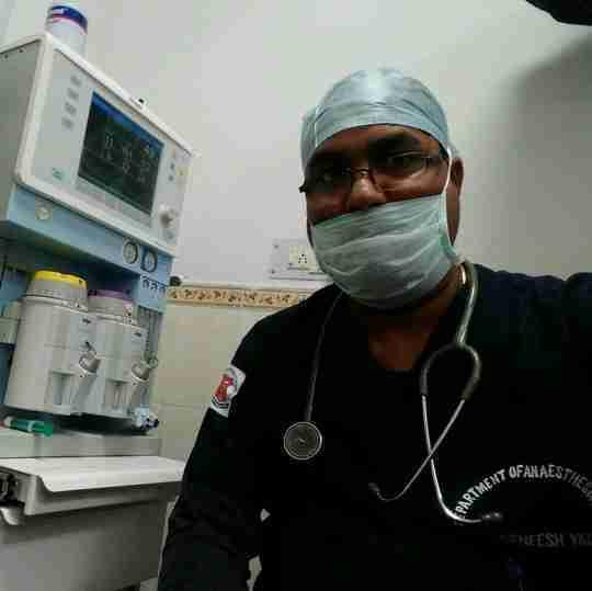 Dr. Rajneesh Yadav's profile on Curofy