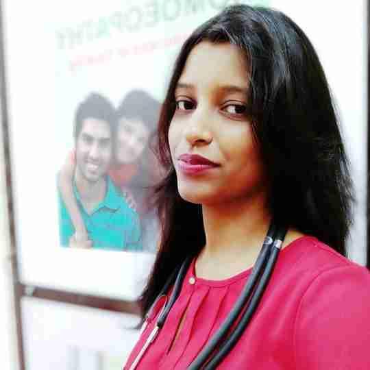 Dr. Preeti Jaiswal's profile on Curofy
