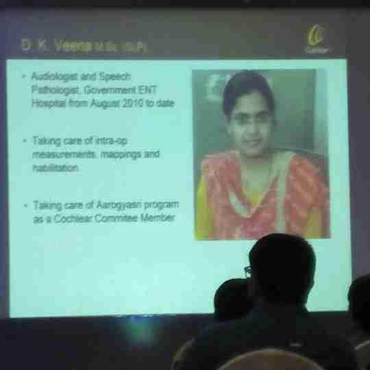 D.k Veena's profile on Curofy