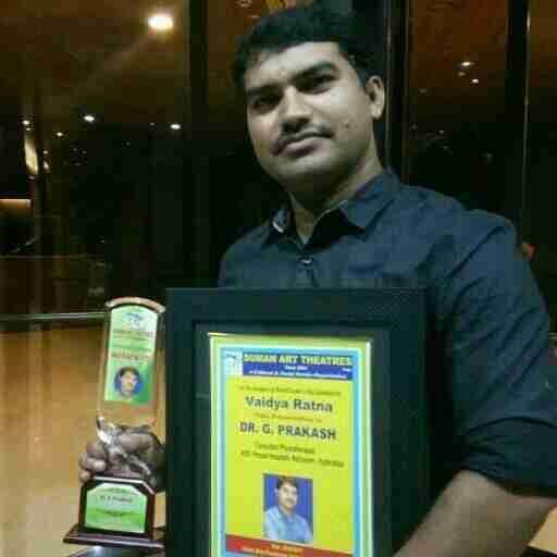 Dr. Drprakash G (Pt)'s profile on Curofy