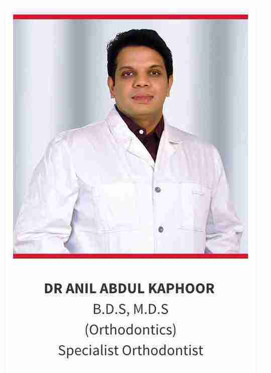 Dr. Anil Abdul Kaphoor's profile on Curofy