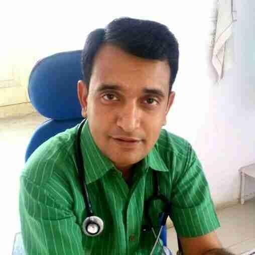 Dr. Sunil Kumar Parmar's profile on Curofy