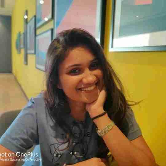 Shruti Gada's profile on Curofy