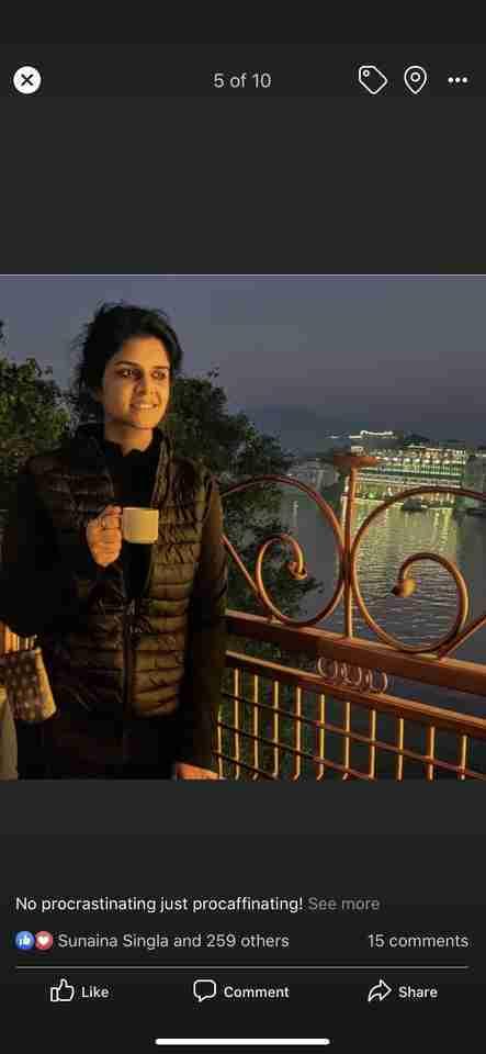 Parnika Kuthiala's profile on Curofy