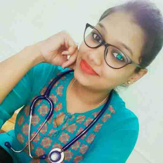 Dr. Nikita Priyadarshini's profile on Curofy