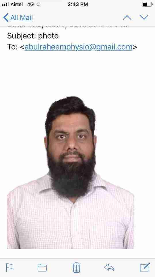 Abdul Raheem Shaik's profile on Curofy