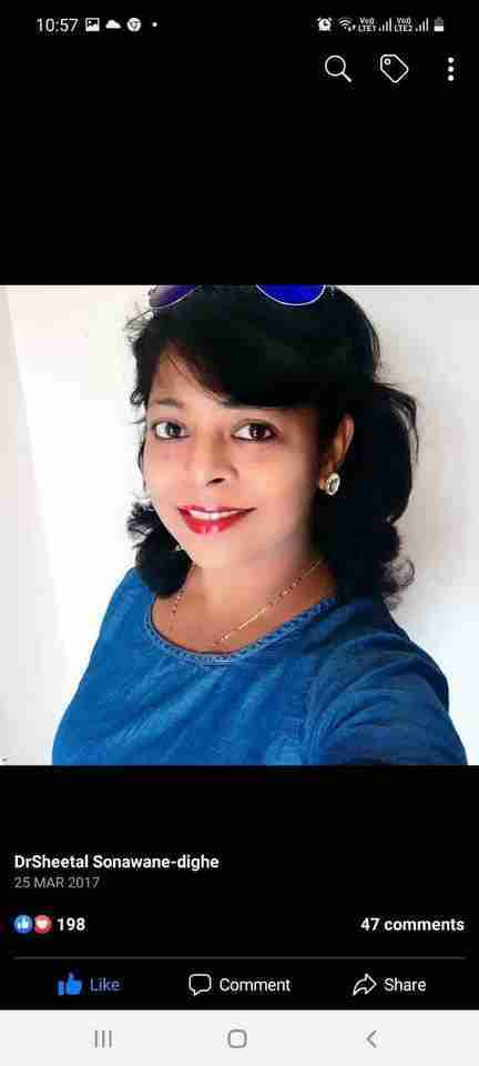 Dr. Sheetal Dighe's profile on Curofy