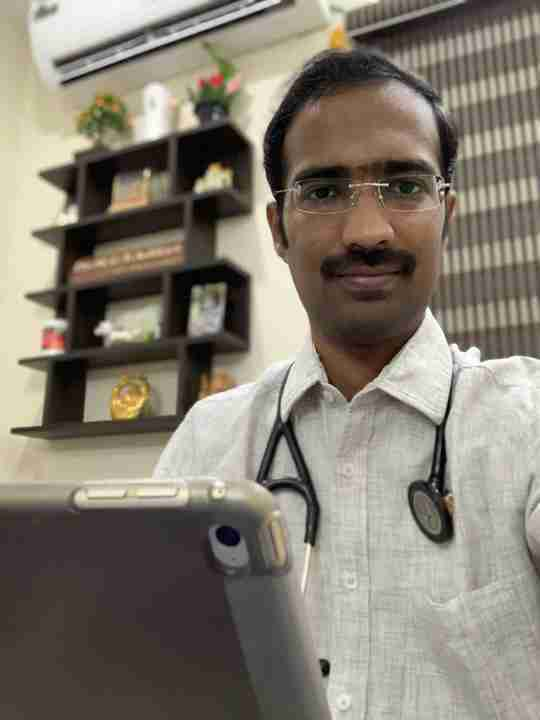 Dr. Muppala Aditya's profile on Curofy
