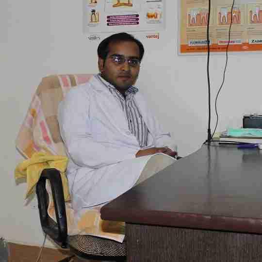 Dr. Sandeep Kaushik's profile on Curofy